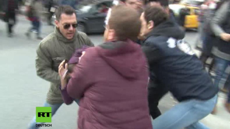 Istanbul: Zusammenstöße und Festnahmen an Uni, weil Erdogan zukünftigen Rektor ernennt