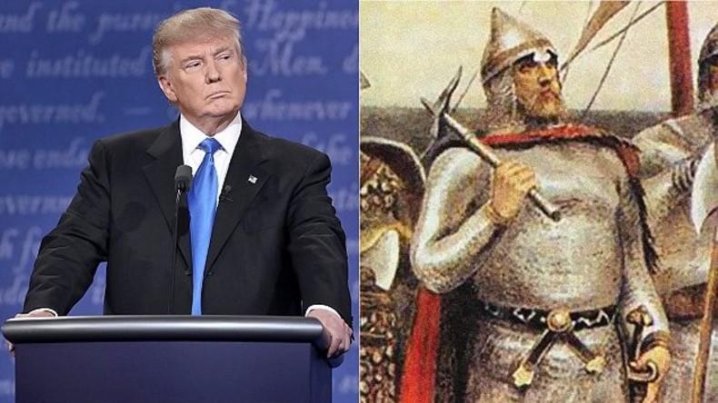 Donald Trump soll in Wirklichkeit Donald Rurikowitsch sein - Daily Mail