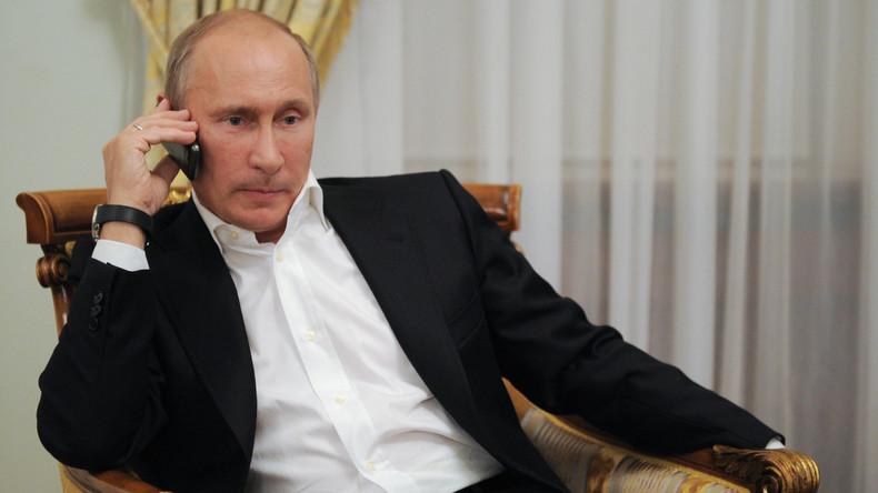 Trump und Putin haben telefoniert - Einigkeit über bessere Beziehungen zwischen USA und Russland