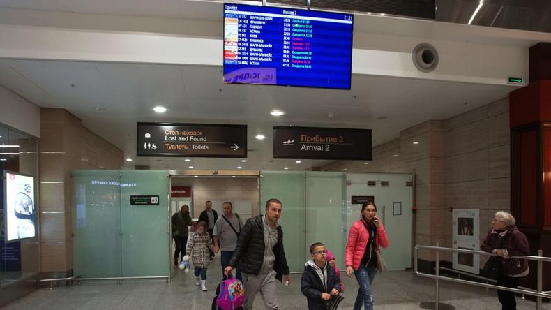 Sankt Petersburg: IS-Anwerber im Flughafen festgenommen