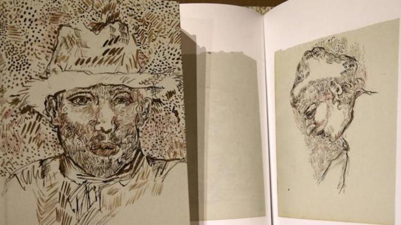 Frankreich: Angebliches Skizzenbuch von Van Gogh präsentiert