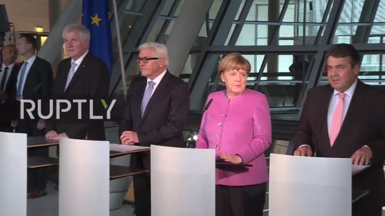 Live: Frank-Walter Steinmeier wird offiziell als Kandidat fürs Bundespräsidentenamt benannt