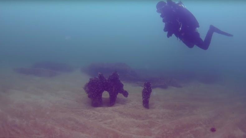 Versunkene Mittelsteinzeitsiedlung auf Ostseeboden entdeckt