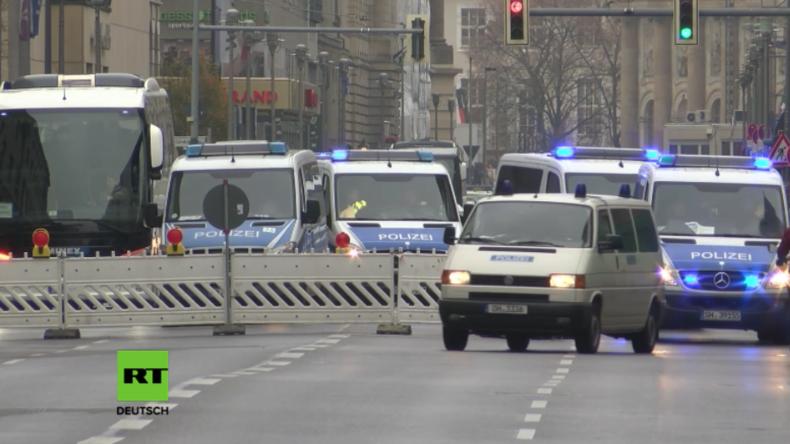 Flugverbotszone, massive Polizeipräsenz und Verkehrseinschränkungen in Berlin wegen Obama-Besuch