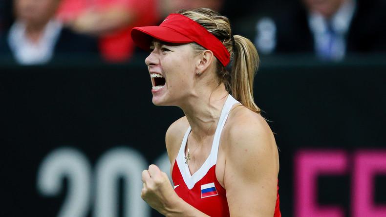 Porsche sponsert Tennis-Star Scharapowa wieder