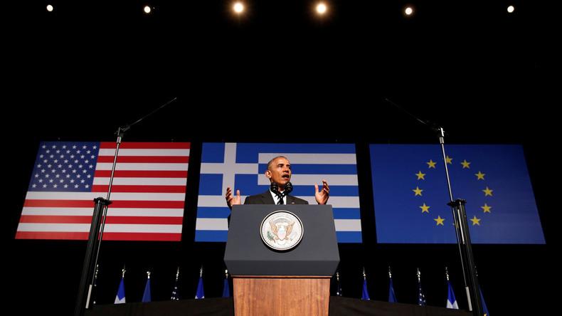 Obama will ein gutes Wort für Griechenland bei Geldgebern einlegen