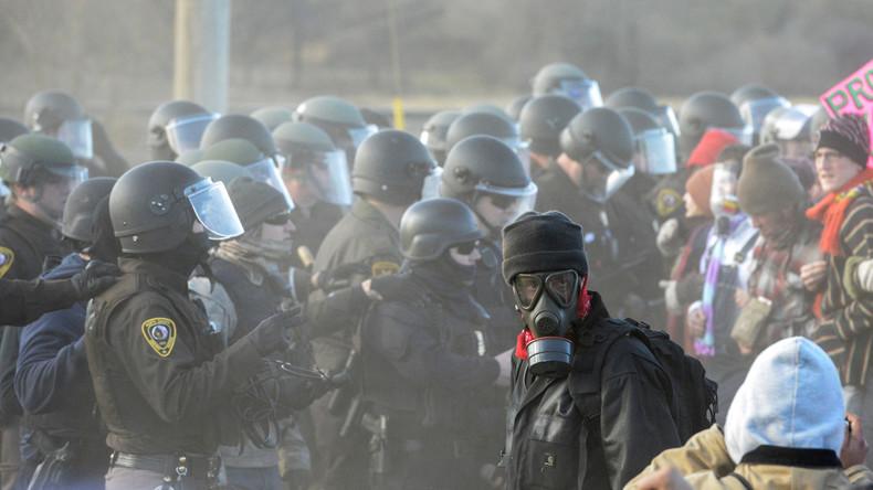 Zunehmende Spannungen bei Protesten gegen Pipeline in North Dakota