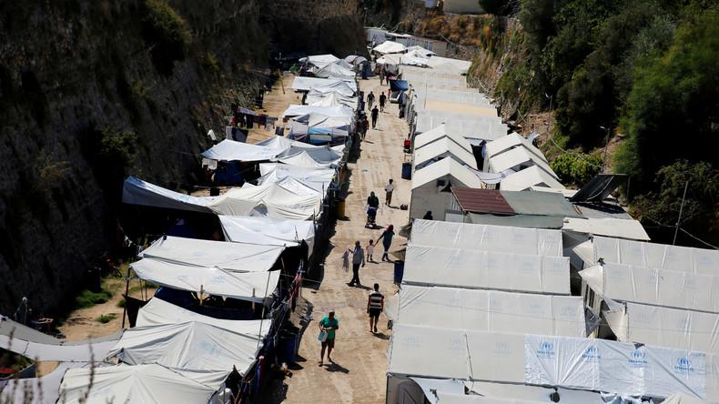 Griechenland: Flüchtlinge randalieren auf Insel Chios