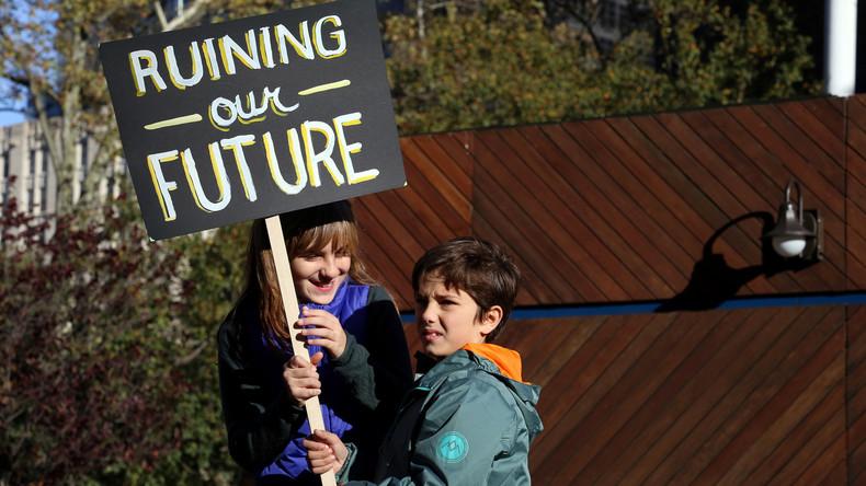 New York: Kinder dürfen wegen Anti-Trump-Protesten Schule schwänzen