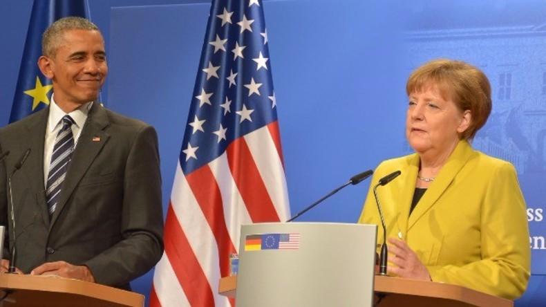 Live ab 16.45 Uhr: Barack Obama und Angela Merkel geben gemeinsame Pressekonferenz in Berlin