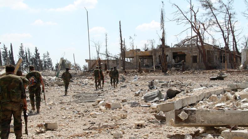 Syrische Militärs vernichten IS-Kämpfer nahe Deir ez-Zor