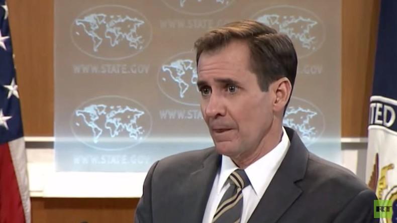 Keine Antwort für RT - US-Außenamtssprecher John Kirby blamiert sich bei Pressekonferenz