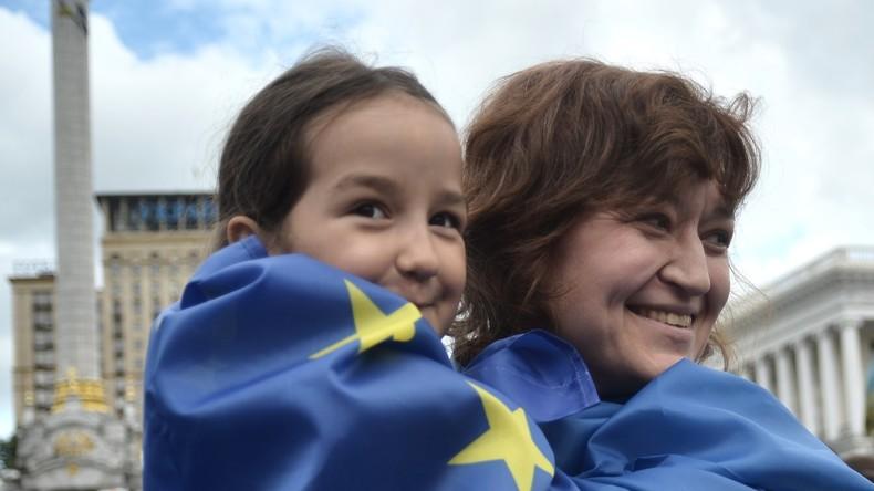 EU: Visafreiheit für die Ukraine vorläufig genehmigt