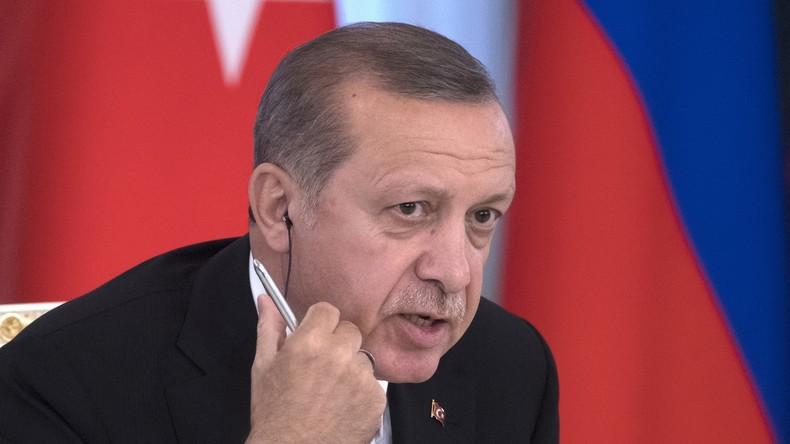 Erdoğan: Westen unterstützt den IS um islamische Welt zu diskreditieren