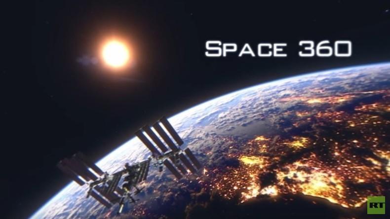 """""""Weltall 360"""" - das gab es noch nie: Panoramavideo von der Raumstation ISS"""