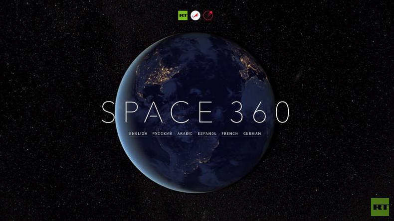 """""""Weltall 360"""": RT stellt erste Panoramaaufnahme aus ISS vor"""