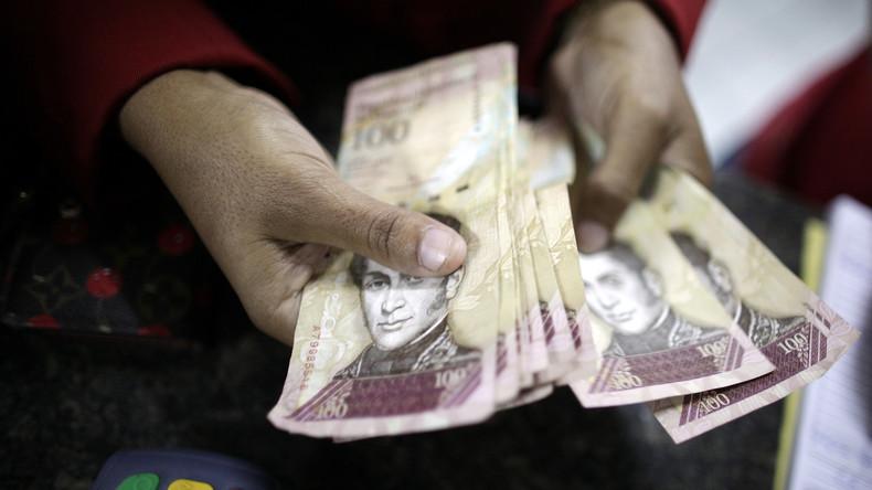 Venezolaner dürfen nur fünf US-Dollar Bargeld pro Tag vom Konto abheben