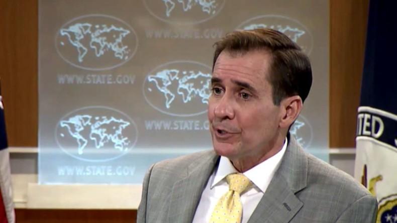 Unbequeme Fragen: US-Außenministerium greift RT an, um von Beweislücke abzulenken
