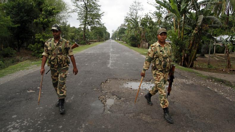 Indien: Extremisten überfallen Militärkonvoi, drei Soldaten tot