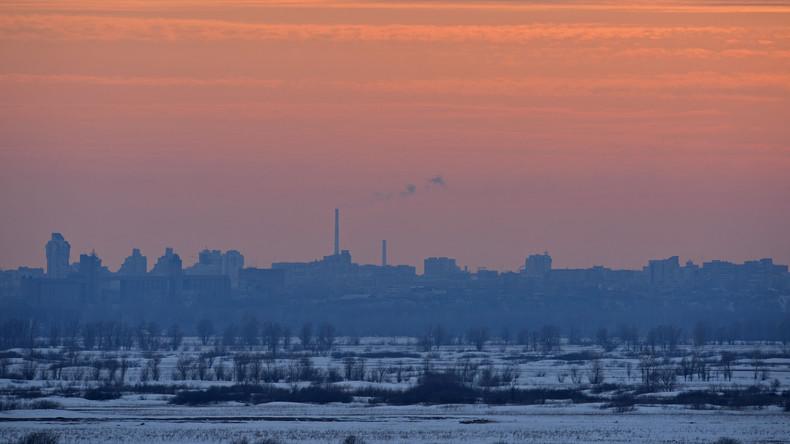 Russland: Extreme Kälte in Region Altai legt Gasversorgung in Hochhäusern lahm
