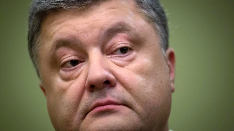 Ukrainische Staatsanwaltschaft verhört Präsident Petro Poroschenko