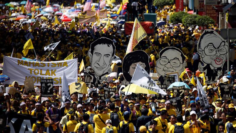 Malaysia: Zehntausende Menschen protestieren gegen Premierminister