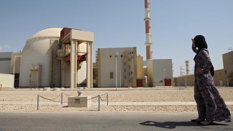 Iran gibt rund 9 Milliarden Dollar für zwei neue Atommeiler aus