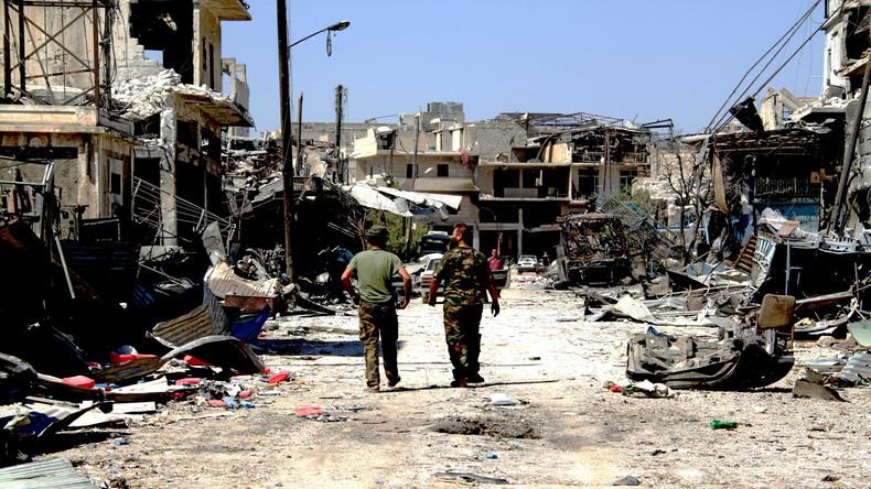 Aleppo: Extremisten beschießen Wohnviertel mit Raketen
