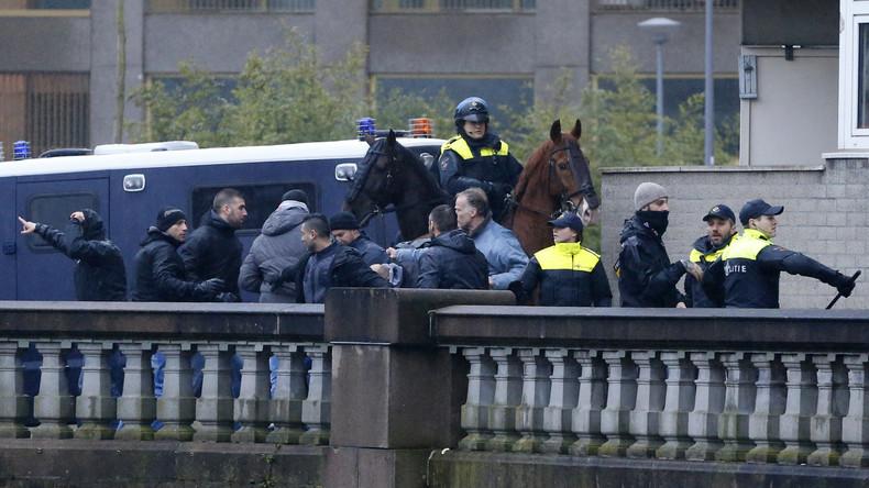 Niederlande: Polizei nimmt mehr als 160 Protestler in Gewahrsam