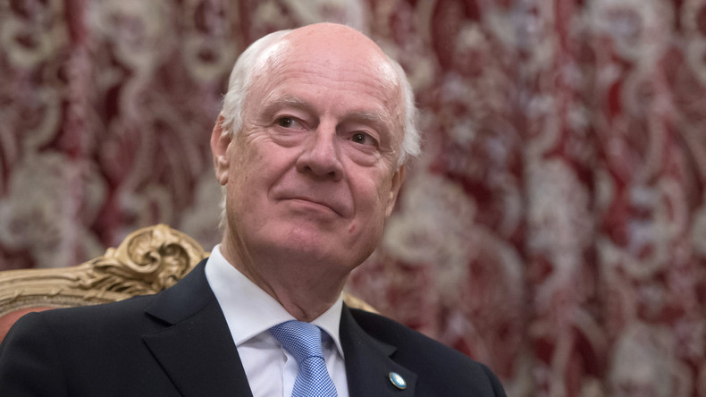 UN-Sondergesandter für Syrien trifft in Damaskus ein