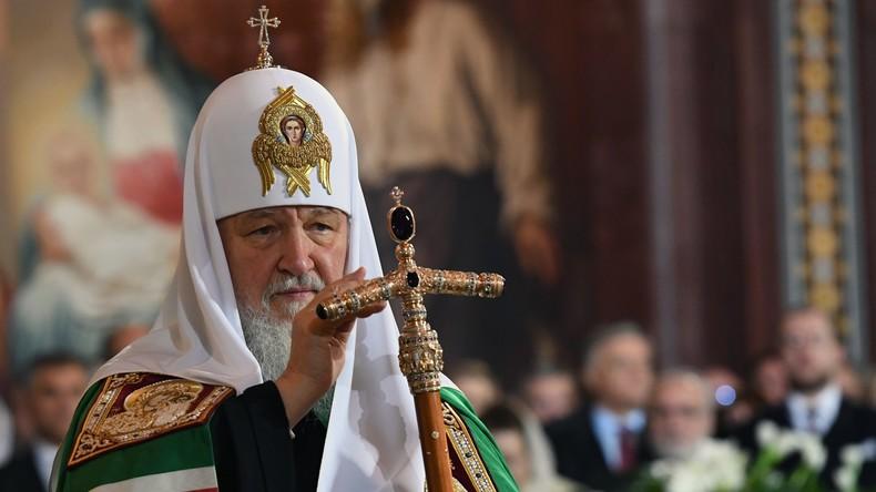 Patriarch Kyrill feiert seinen 70. Geburtstag