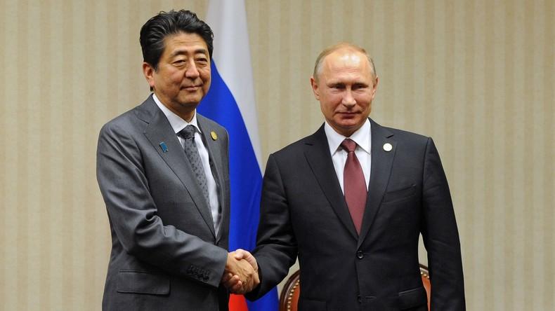 Zeichen der Annäherung: Japans Premierminister bereitet Wladimir Putins Besuch persönlich vor