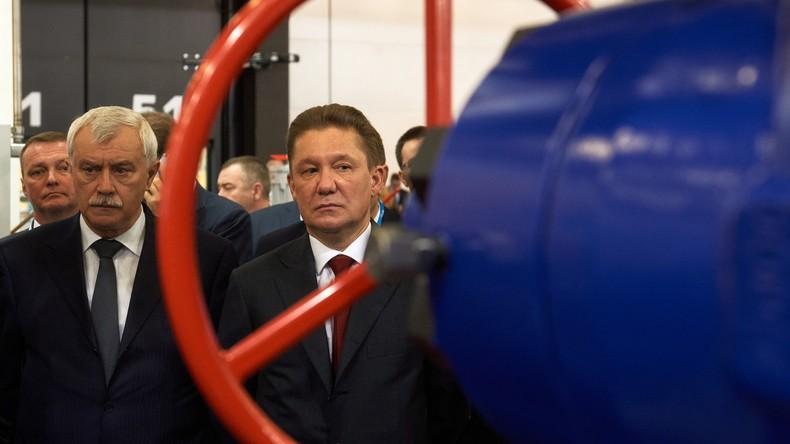 """Ukrainischer Konzern droht """"Gazprom"""" mit Tariferhöhung für Gastransit nach Europa"""