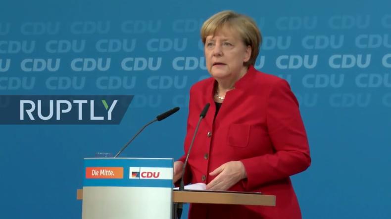 Live: Merkel bestätigt offiziell ihre Kanzler-Kandidatur