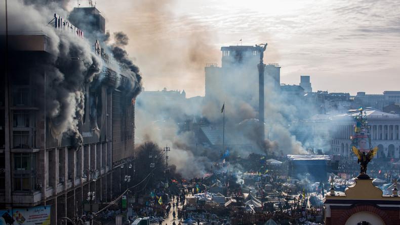 Ukrainische Nationalisten kündigen neuen Maidan an