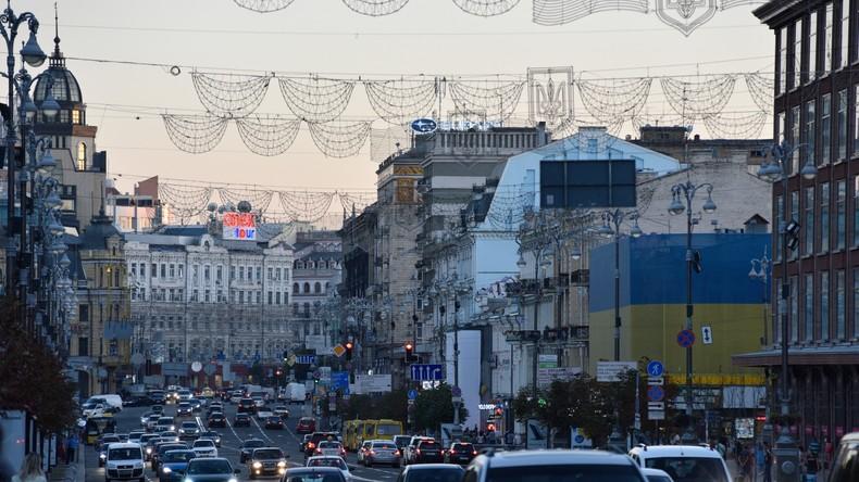 Ukraine: Explosion neben Stadtverwaltung in Kiew