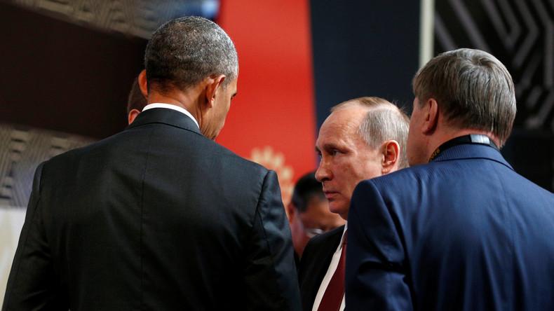 Obama auf seinem letzten APEC-Meeting in Lima - Begegnung mit Putin