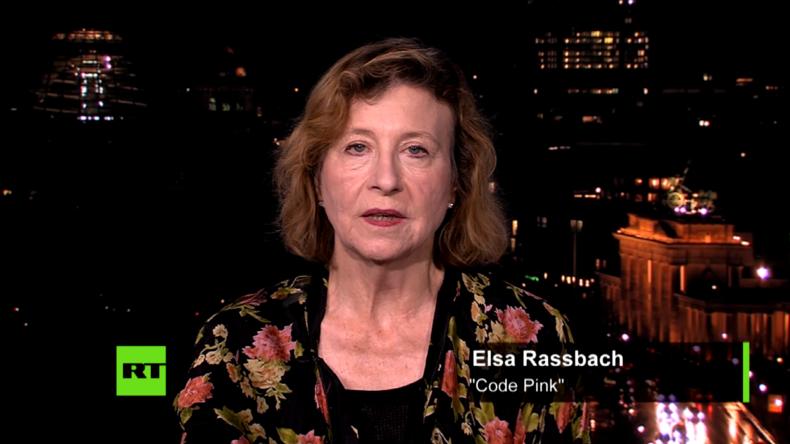 """""""Die Bundesregierung könnte Drohnenangriffe aus Ramstein verbieten."""" – Elsa Rassbach zu RT Deutsch"""