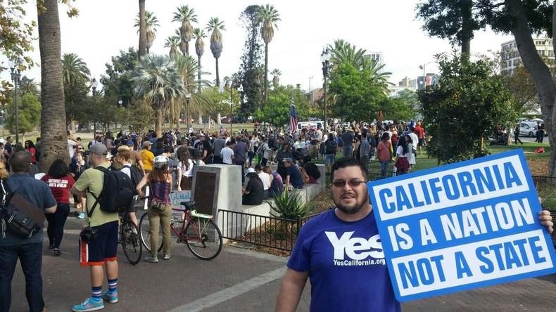 Kalifornische Bürger reichen 'Calexit'-Entwurf bei Generalstaatsanwaltschaft ein