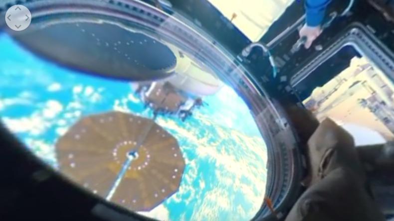 """Weltweit erste 360°-Dokumentation exklusiv von der ISS: """"Die Kuppel ist der interessanteste Ort"""""""