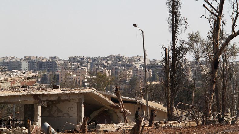 Syriens Armee ruft Extremisten auf, Einwohnern von Ostaleppo freies Geleit zu geben