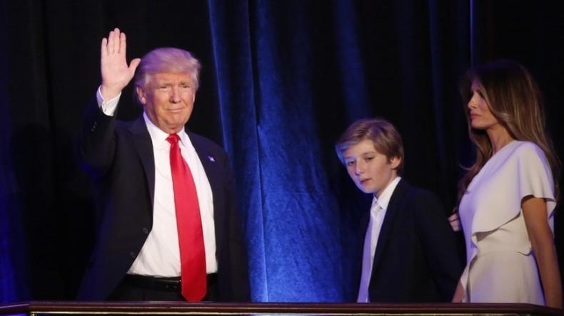 Home alone: Trumps Ehefrau und Sohn wollen nicht ins Weiße Haus ziehen