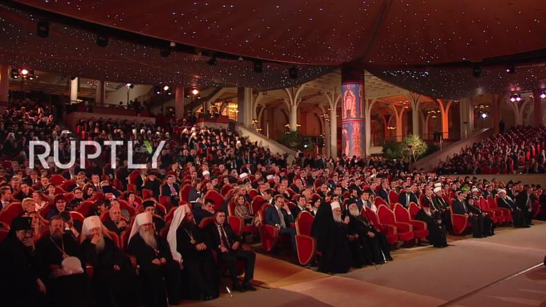 Live: Putin und Lukaschenko gratulieren Patriarch Kirill zum 70. Geburtstag