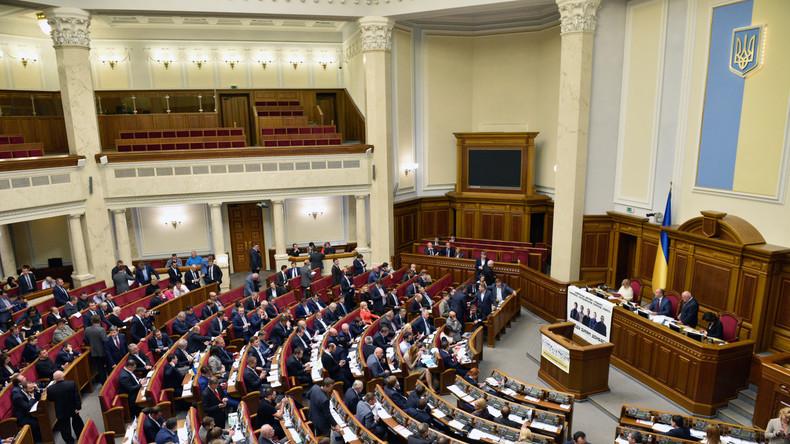 Ukraine räumt ein: Deklaration von Vermögen der Politiker hilft nicht beim Kampf gegen Korruption