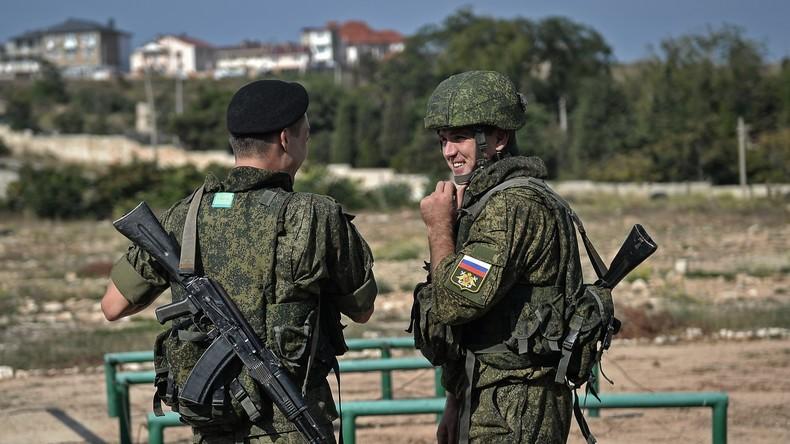 """Wladimir Putin zur Entführung russischer Militärs auf der Krim: """"Das war heimtückisch"""""""
