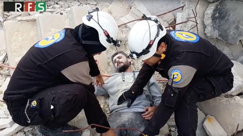 Gefälschte Rettungsaktion – Video wirft zahlreiche Fragen nach Glaubwürdigkeit der Weißhelme auf