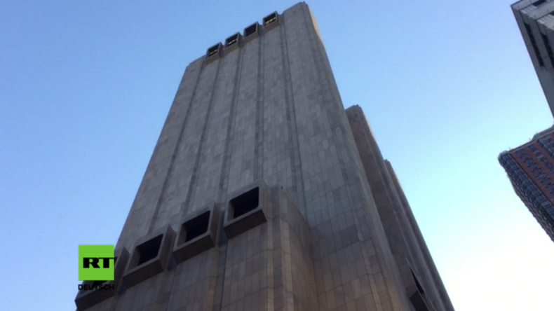 Spionage-Gigant mitten in Manhattan? Fensterloser Wolkenkratzer wohl wichtiges NSA-Gebäude