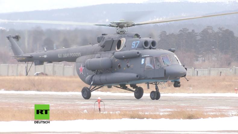 Russland präsentiert neuen Arktis-Hubschrauber mit einzigartigem Startsystem