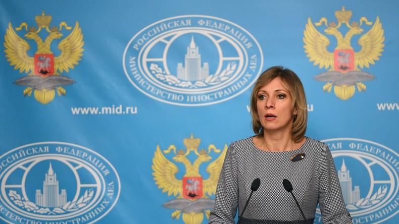 Sacharowa: Russland will Gegenmaßnahmen gegen Anti-Propaganda-Resolution der EU ergreifen