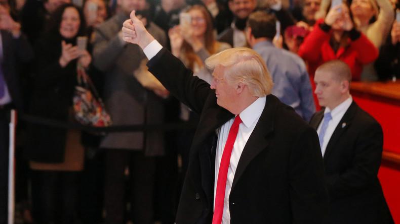 Medien und Politik: Trump kanzelt US-Lügenpresse ab